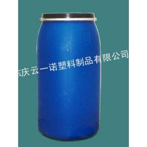 供应160L塑料桶160L化工塑料桶160公斤抱箍塑料桶山东塑料桶厂家价格