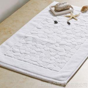 供应康尔馨 酒店地垫 浴室地巾 纯棉 加厚 环保吸水 防滑垫 门垫 垫子