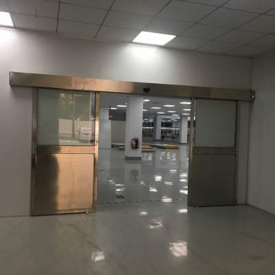 供应专业安装维修惠州博罗感应玻璃门 遥控平移门 办公大厅自动门价格 冷雨自动门生产厂家LEY2009