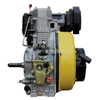 12马力 188FAE电启动柴油机 25mm键槽轴 配皮带轮