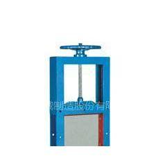 供应高温插板卸灰阀方口耐高温手动插板门中能专业制造