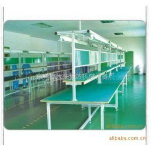 供应东莞流水线工作台 工厂PVC防静电工作台