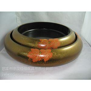 供应日本料理日式餐具盒/高级餐厅餐具/金色枫叶208寿司冠