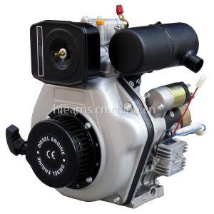 4马力 170F柴油机, 银色带电磁阀油泵