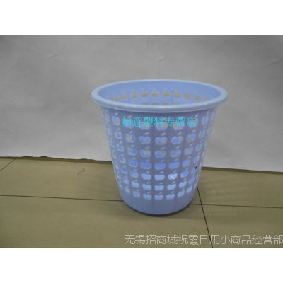 加厚型塑料厚纸篓/垃圾桶/收纳桶/卫生间纸篓/杂物桶/垃圾桶酒店