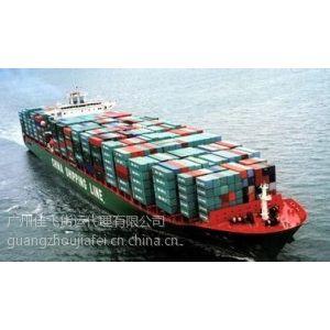 供应机械设备进口 出口 海运整柜 散货拼箱运输