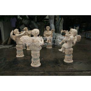 供应玻璃钢小天使雕塑/小天使雕塑厂家