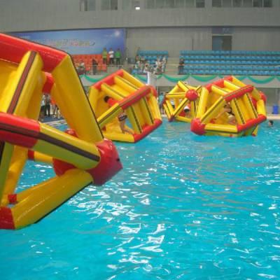 供应水上健身机器 大型水上充气跑步机 娱乐休闲健身趣味器材