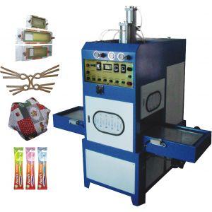 供应电子烟 牙刷 熔接切断一次成型机器--高周波自动滑台同步熔断机