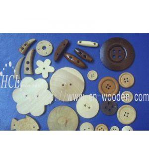 供应木纽扣 服装辅料 木扣 圆木扣