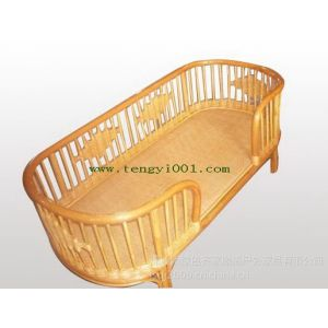 M1319可重叠儿童藤床(幼儿园藤床、幼儿园床、儿童床)
