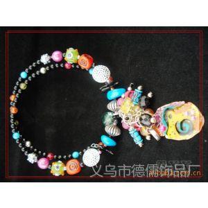 DS德儒饰品 供应绿松石+环保合金项圈  项链饰品 欧美复古饰品