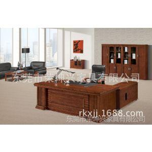 供应大班台 老板办公桌 库存办公台 库存实木办公家具 可定做款式