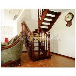 供应品聚楼梯 MOD.112实木楼梯 实木栏杆 实木立柱
