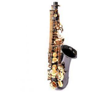供应金音萨克斯中音萨克斯卡子Saxophone降E中音黄铜镀黑镍