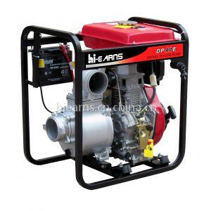 4寸柴油水泵DP40, 电启动, 大油箱, 100毫米口径