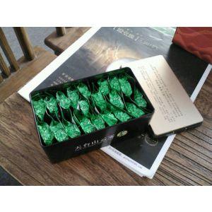 厂家定制 东莞钜盛祥马口铁盒 工厂制造铁观音20泡装内塞盖长条形铁盒