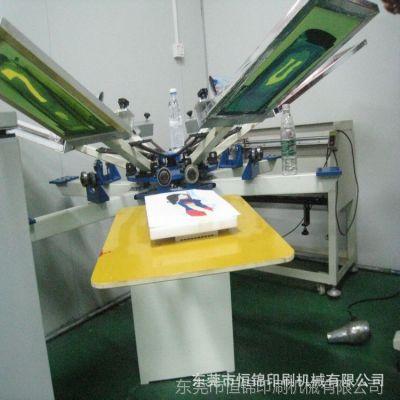 印花机,手动T恤印花机,山东印花机,铝合金台版轮转印花机