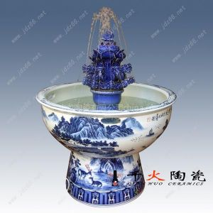 供应流水喷泉 景德镇陶瓷加湿器