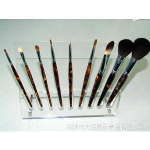 供应压克力化妆笔架,眉笔架,亚克力粉笔架,化妆笔展示架