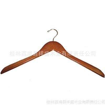供应彩色木制衣架 木衣架批发 酒店衣架 男士夹克架 女士衬衫挂