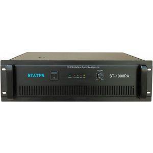 供应Statpa车站广播 机场广播 广场广播 智能广播系统功率放大器 定压功放ST-1000PA