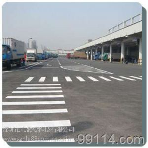 供应划线厂家供应深圳龙岗小区停车位划线 道路标线