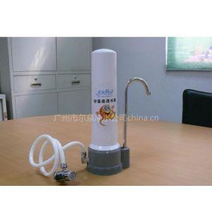 供应批发德州尔泉矽藻瓷台上式净水器,家用陶瓷净水器.英国道尔顿式净水器