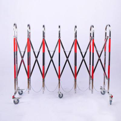 供应不锈钢伸缩围栏(拱形门)WL-BX-1.1*2.5米派祥厂家定做