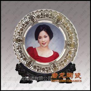 陶瓷纪念盘 定制婚庆陶瓷纪念盘 景德镇陶瓷纪念品厂家