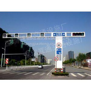一体框架式信号灯灯杆、框架式信号灯杆价格、炭素结构钢红绿灯杆、信号灯灯杆、L型八角杆、交通标志杆