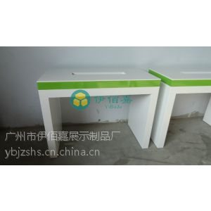 供应天翼靠墙体验桌 中国电信定制体验柜 电信展柜供应
