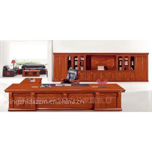 供应明志达深圳厂家直销3.2米高档老板电脑桌时尚办公台