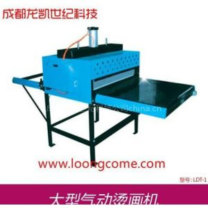 供应成都龙凯热转印 成都大型气动烫画机 成都定制烫画机