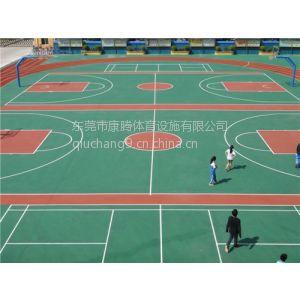 供应深圳篮球场地面铺设施工 东莞篮球场地面涂料丙烯酸 丙烯酸材料价格