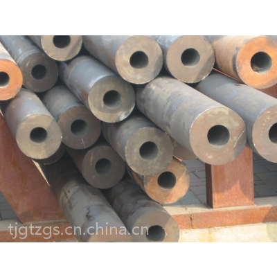 天津现货库存:河南产无缝钢管现货资源。