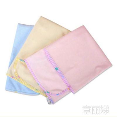 蒂乐婴儿隔尿用品 PU防水竹纤维隔尿垫 隔尿巾55*70cm中号