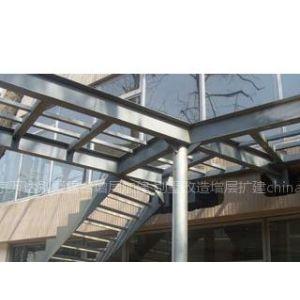 供应北京海淀区专业钢结构夹层  楼梯制作安装搭建