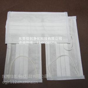 供应大量批发口罩/亚光口罩/一次性亚光布双层、三层口罩东莞厂