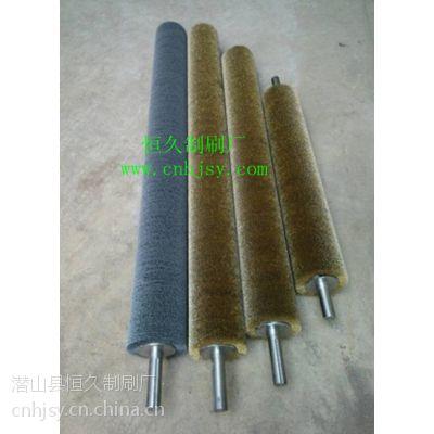 供应广东这色机钢丝刷 全国地板抛光拉丝机钢丝刷辊