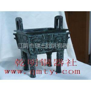供应江苏铜铝铸造加工/青铜方鼎铸造厂家/有色金属铸造
