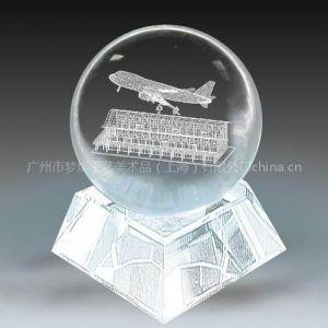 航天公司周年纪念品、航空博物馆纪念品、上海水晶球