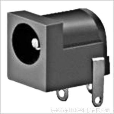 DC插座:DC-005插脚90电源插座,针芯2.0插座,笔记本电源插口