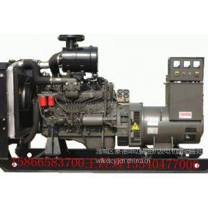 供应潍坊柴油机发电机组厂家胶南上柴200KW发电机组莱西300KW发动机