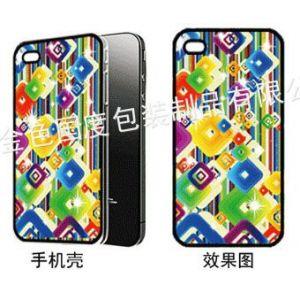 供应3D苹果手机壳贴标、3D手机擦、3D手机吊飾