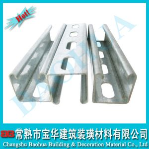 供应1-5/8\'x1-5/8\'热镀锌/预镀锌C型钢
