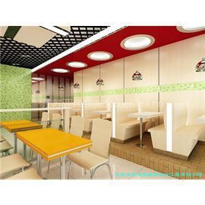 供应南京快餐店装修设计效果图 图片 案例 高品质 优服务