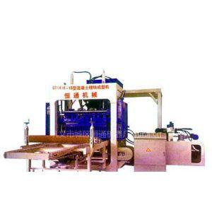 供应恒通液压砖机、砌块机制砖设备领头军