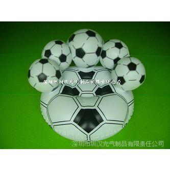 专业生产环保PVC单人充气足球沙发 充气足球沙发 充气儿童沙发