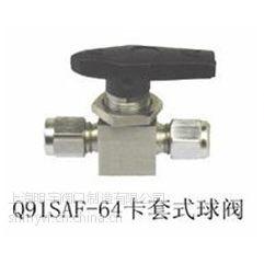 供应Q91SAF-64卡套式球阀